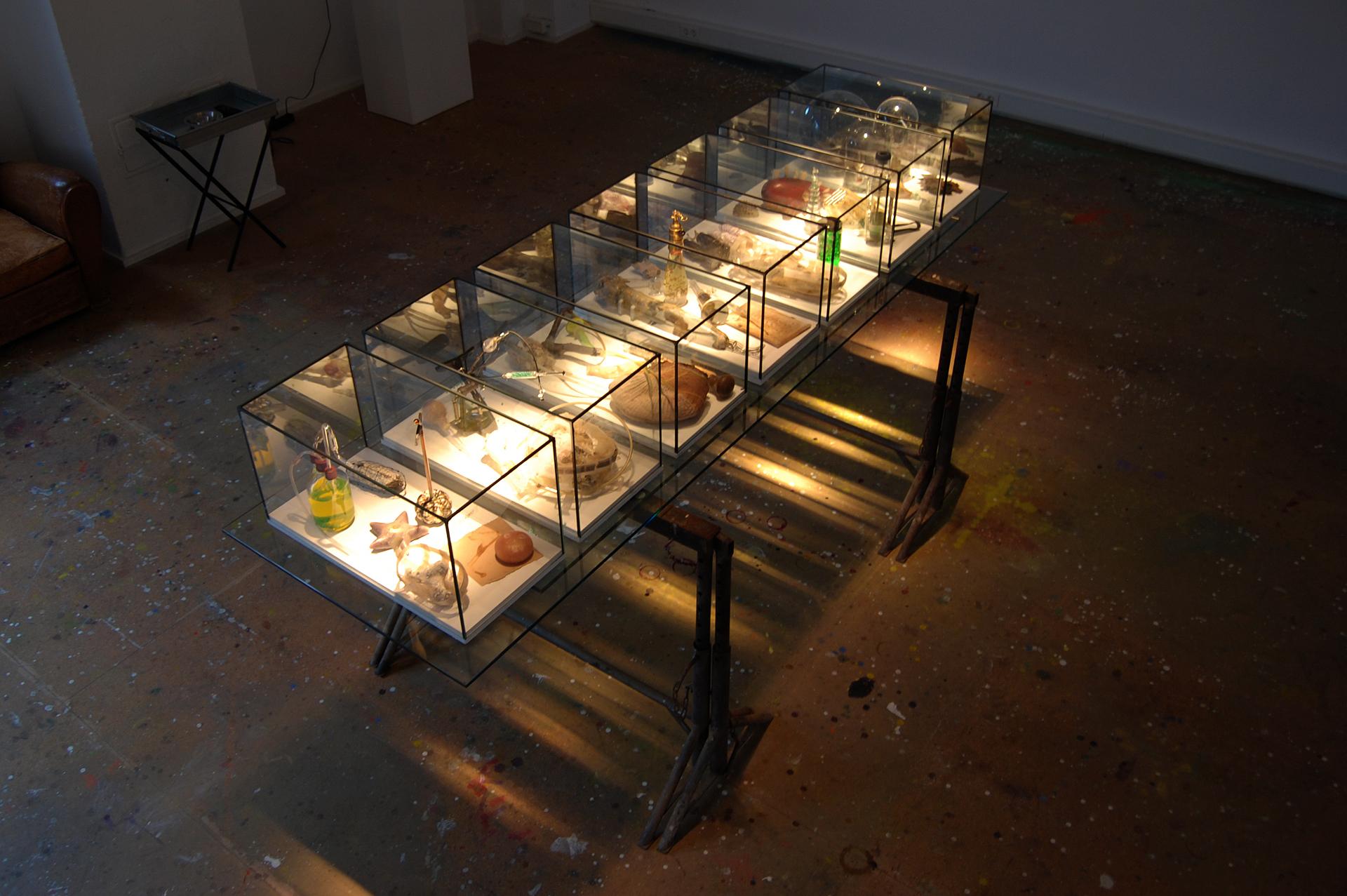 Ausstellungsansicht Anagramm@1 von Stefan Zoellner, Sammlung Siepermann