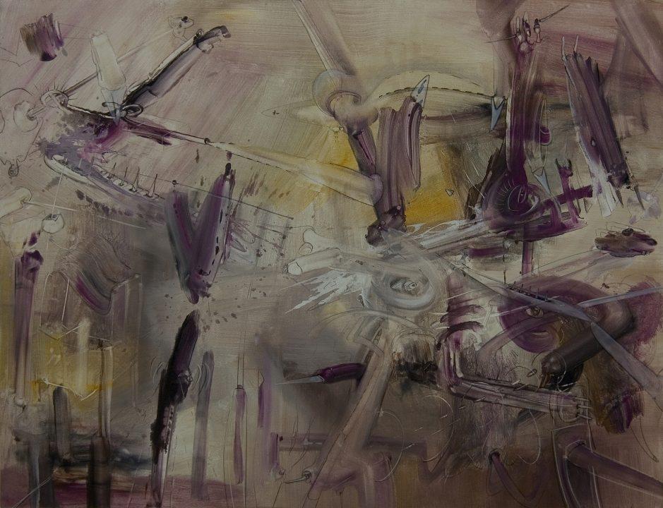 Afrika _ 2003 _ Acryl auf Baumwolle _ 113 x 147 cm
