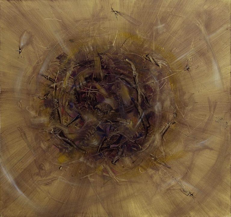 Blähung (Urknall) | Acrylbild von Stefan Zoellner | 1992