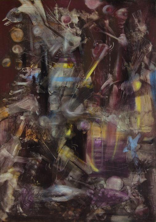Flowers of Evil _ 2003 _ Acryl auf Baumwolle _ 105 x 75 cm