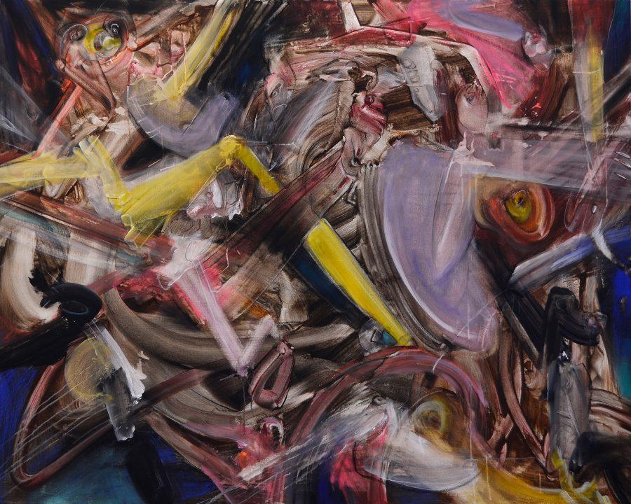 Malerei von Stefan Zoellner Acrylbild Metabolism